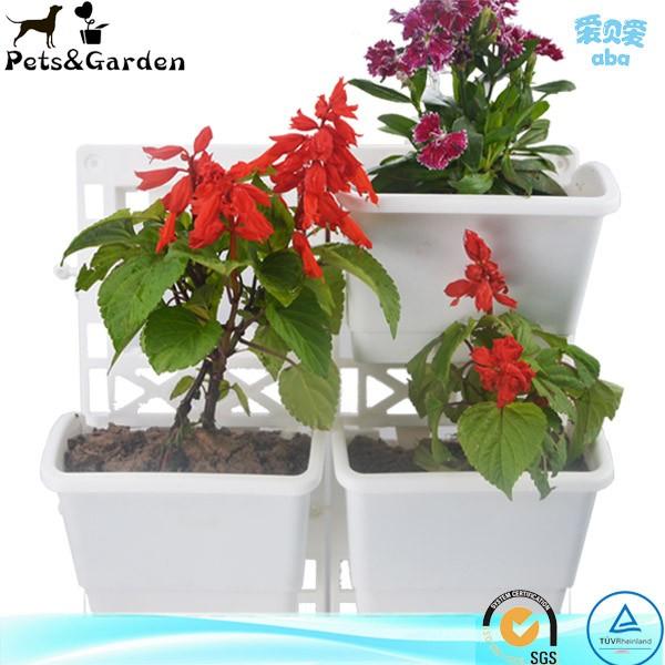 regalo interior auto riego olla pequea flor para las plantas suculentas