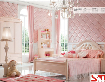 White Color Girls Queen Size Bed Kids Bedroom Sets - Buy Queen Size ...