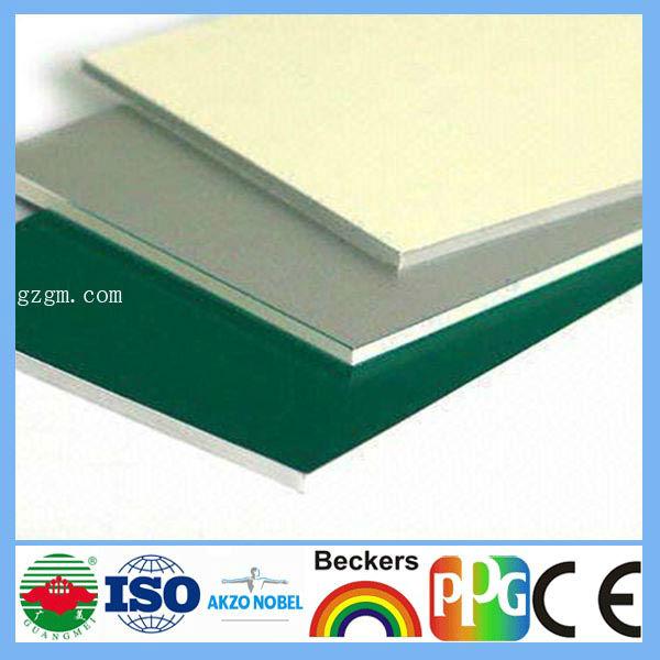 4mm 0.4 Pvdf Coatings Aluminium Clading Sheets Acp Cif Price