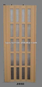 Panneau En Plastique De Decoration De Porte Salle De Bain Porte Pliante En Pvc Buy Porte Pliante En Pvc Porte En Plastique Porte En Pvc Product On