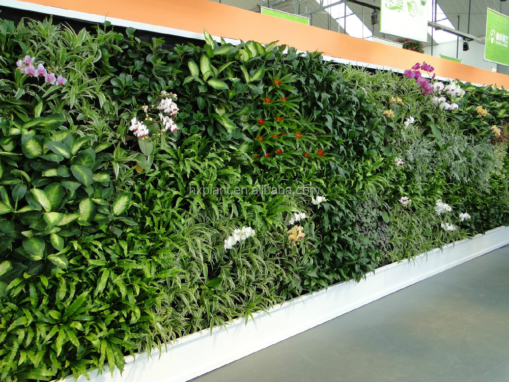 artificial flower indoor outdoor fake greenery wall for