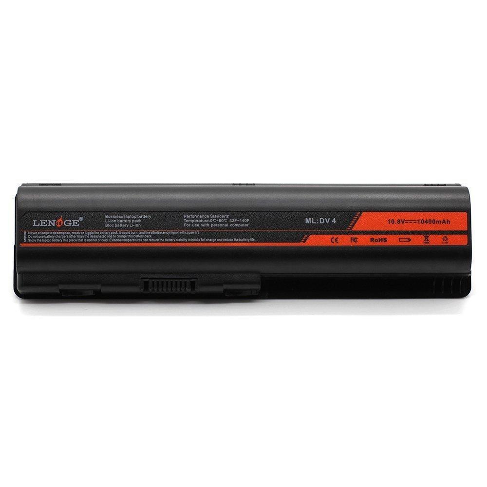LENOGE [Li-ion 12Cells] Laptop Battery replacement for HP Pavilion DV4 DV5 DV6 G60 G50 G70 G61 Presario CQ60 CQ40 CQ50 484170-001 KS524AA HSTNN-CB72 HSTNN-CB73 HSTNN-DB72 HSTNN-DB73 HSTNN-IB72