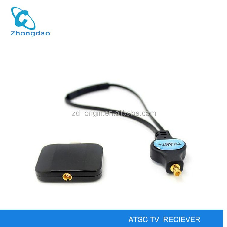 Pad Live TV Receiver DVB-T2/DVB-T/ISDB-T/ATSC DTV Tuner Receiver for Android phone And Pad USB Dongle To Watch TV Freely