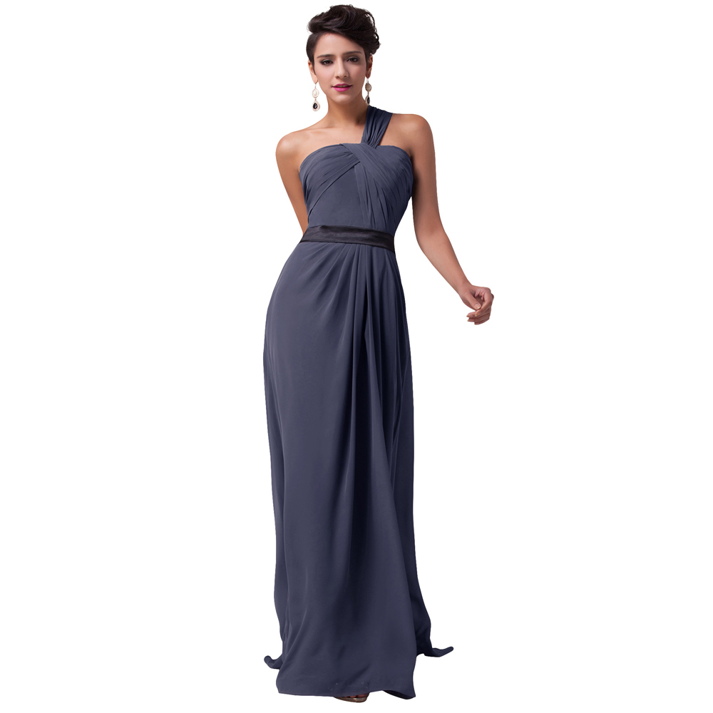 Buy Grace Karin elegant Cheap Grey plus size Long Sleeve Lace Prom ...
