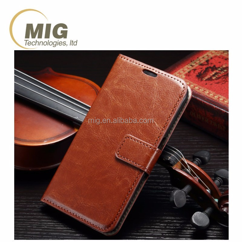 for samsung galaxy s7 Wallet design leather mobile phone flip cover with card slot Cell phone case for samsung s7 case
