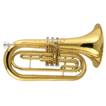 Gold lacquer Tone Bb Marching Baritone horn