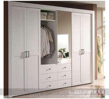 Modern Bedroom Wooden Door Designs 2017 latest modern bedroom wooden wardrobe mirror door designs