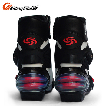 Safety Black High Quality Motorbike High Quality Biker Boots