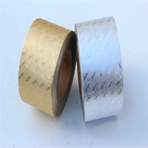 Embossed Cigarette Wrapping Paper Backed Aluminum Foil