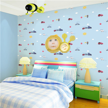 photograph relating to Printable Wallpapers called Wallpaper Non Woven Residence Decoration Little ones Bed room 3d Printable Wallpaper Manufacturing unit - Obtain 3d Wallpaper For Property Decoration,3d Youngsters House