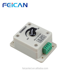 FCC RoHS CE china supplier Led Single Color Dimmer, PWM Digital Dimming,DC12-24V,Wall Led Dimmers