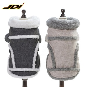 High Quality Thicken Fleece Dog Coat Winter Coat with Legs Warm Dog Apparel Jacket Pet Warm Berber Fleece Pet Dog Clothes