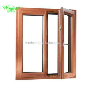 Modern Aluminum And Wooden Window Frames Designs