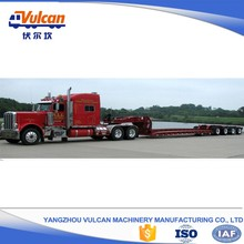 Manufacturer sale utility 4 axle lowbed trailer and truck