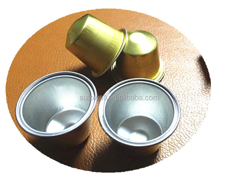 Wholesale - Empty Aluminum Coffee Capsule For Nespresso,K-cup ...