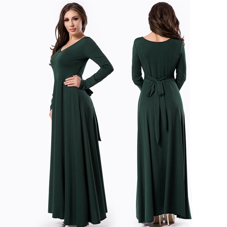 Nieuwste ontwerpen groothandel moderne lange arabische vrouwen india kaftan jurk