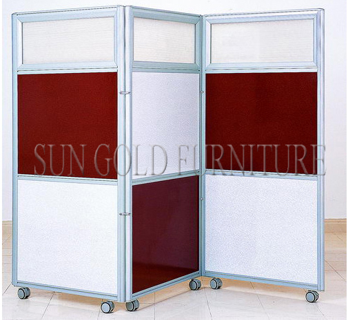 Modern Decorative Hotel School Home Office Folding Rolling Partition  Wall(SZ WS591)