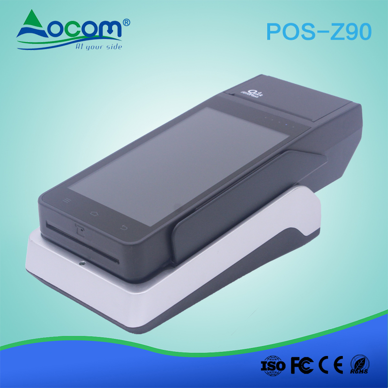 Androïde tenu dans la main Portatif Terminal de position avec L'imprimante thermique de 58mm