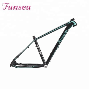 2019 wholesale customized profession manufacturer Alloy 6061# 27.5 inch carbon mountain bike frame spare parts bicycle frame