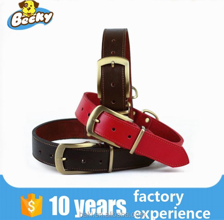 Wholesale Pet Collar Used Dog Training Collar Leather Dog Collars and Leashes