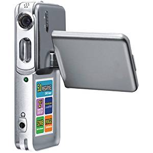 """5.0MP Cmos 7-IN-1 Multi-functional Camera with 2.0"""" Swivel LCD"""
