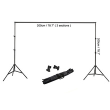 YIZHILY Professional Photo Photography Studio Pros Light Background Support Stand Kit