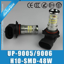 Hot selling auto fog light DC 12-24V 48W 420lm White/Red/Amber 3014smd 9006 9005 fog light car