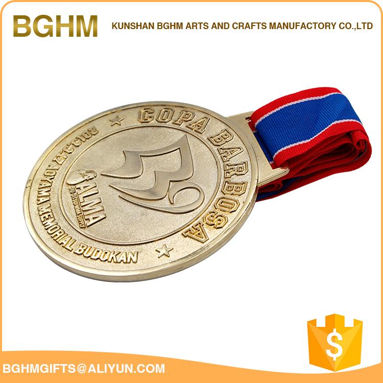 Soft Enamel Gold Blank Medal,Custom Souvenir Medal