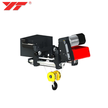 ISO Certificated High performance 1 ton 2 ton 3 ton 5 ton electric wire rope monorail hoist price