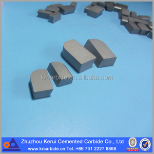 ZhuZhou Cemented Carbide Cutting tools type A brazed carbide tips high hardness P30 Cemented Carbide brazed tips