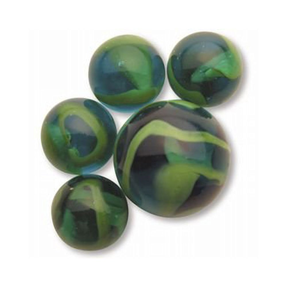 Net bag 24 Collectible Marbles,1 Shooter Meteor Mega Marble