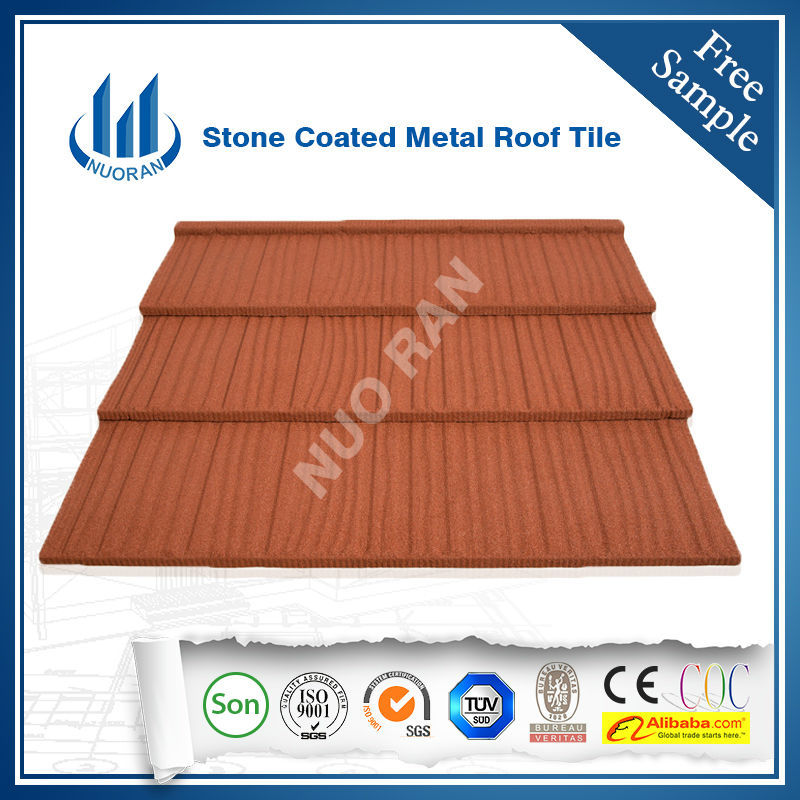 NUORAN Hot Sell Stone Coated Metal Roofing Panel/Monier Concrete Roof Tile/Metal  Roof