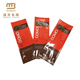 Multi-color & style pet food packaging laminated material 4 side sealing plastic bag
