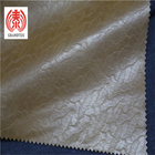 Brown Embossed Garment Leather Fabric 0.6 Mm Thickness For Men'S Jacket