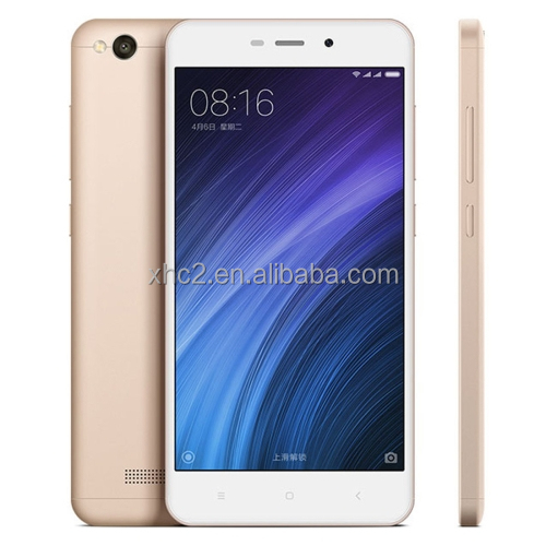 hot product 4G mi mobile phone 5.0 inch MIUI 8 Xiaomi Redmi 4A with Snapdragon 425 Quad Core Infrared Remote