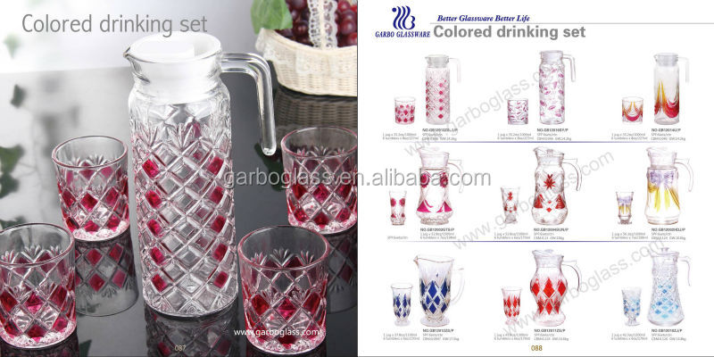 7pcs Glass Drinking Set/ Jug Set/ Juice Glass Set,Wholesale 7pcs ...