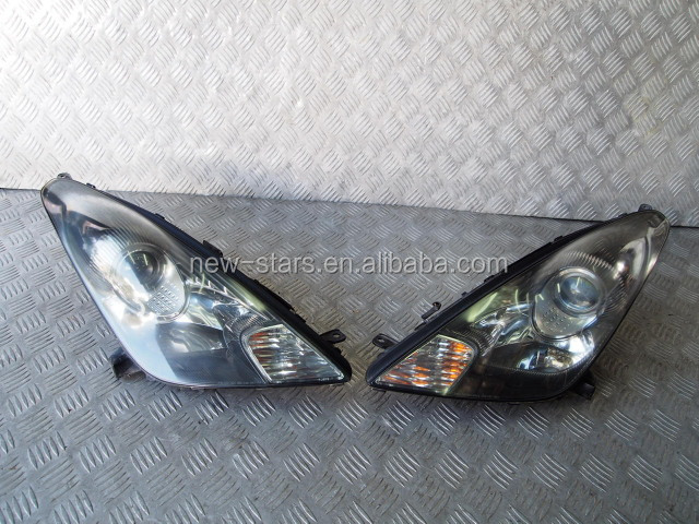 USED JDM Front HID Xenon Headlights Lights OEM for 2006 Celica ZZT231 2ZZ VVTI Kouki