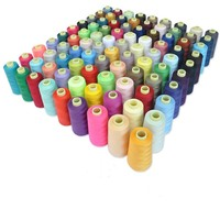 China supply 100% polyester sewing thread 40/2