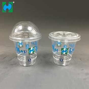 8oz 9oz 10oz 12oz 16oz 20oz Disposable Plastic Clear Cup for juice and rrinks