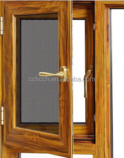 Ventanas de aluminio abatibles great ventanas de aluminio for Ventanas de aluminio con marco de madera
