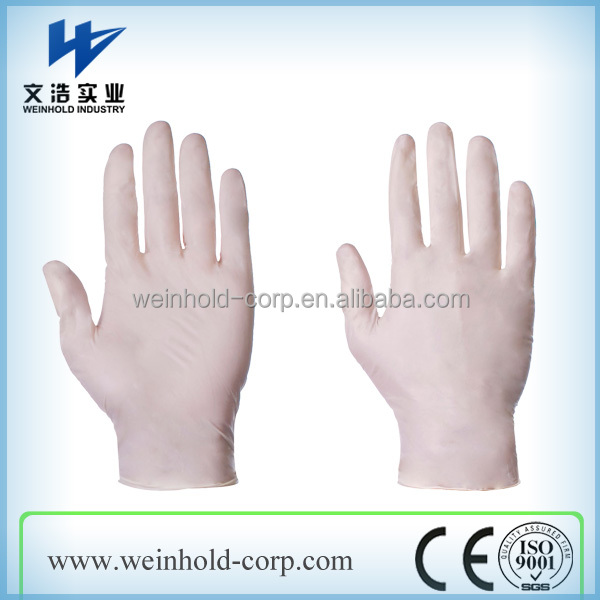 powdered vinyl gloves manufacturer disposable gloves