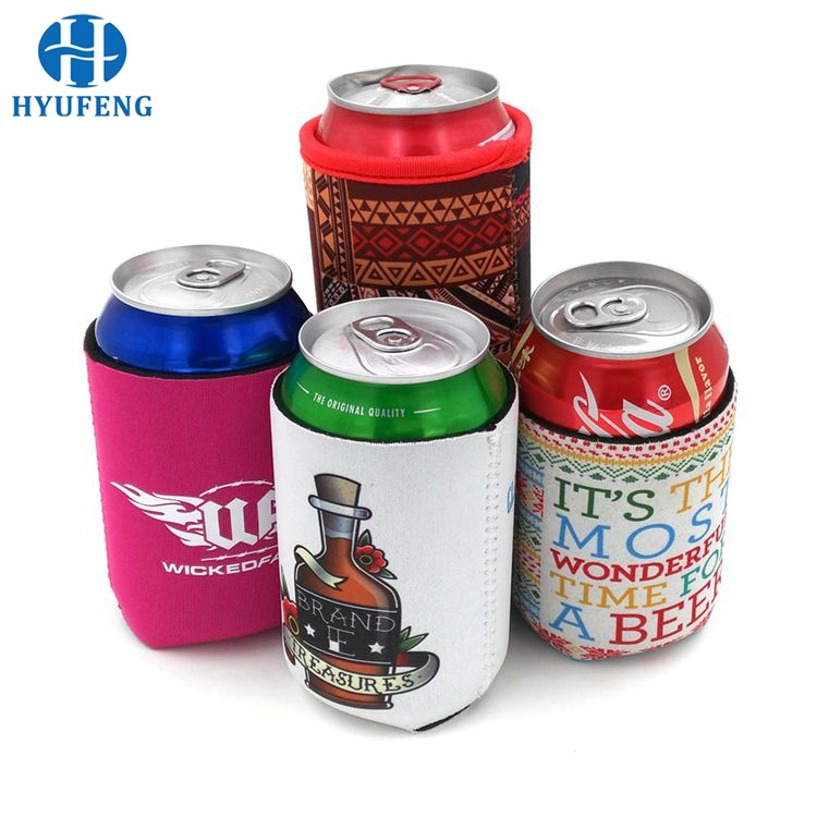 Promotional Custom Logo Beer Neoprene Can Holder