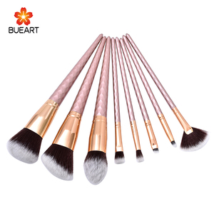 Maquillaje De Pinceau Diamond 8pcs Makeup Brushes Wholesale Cosmetic Beauty Product High-end