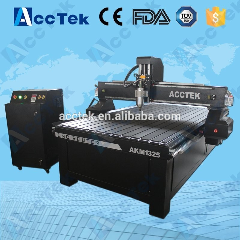 NEW MACH3 controller !!! Professional AccTek 3d cnc 1325 wood cutting machine/cnc engraving machine/stl 3d models