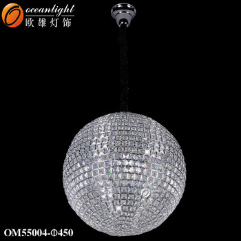 Crystal chandeliers crystal ball chandelier modern e27 pendant crystal chandeliers crystal ball chandelier modern e27 pendant lamps om55004 aloadofball Gallery