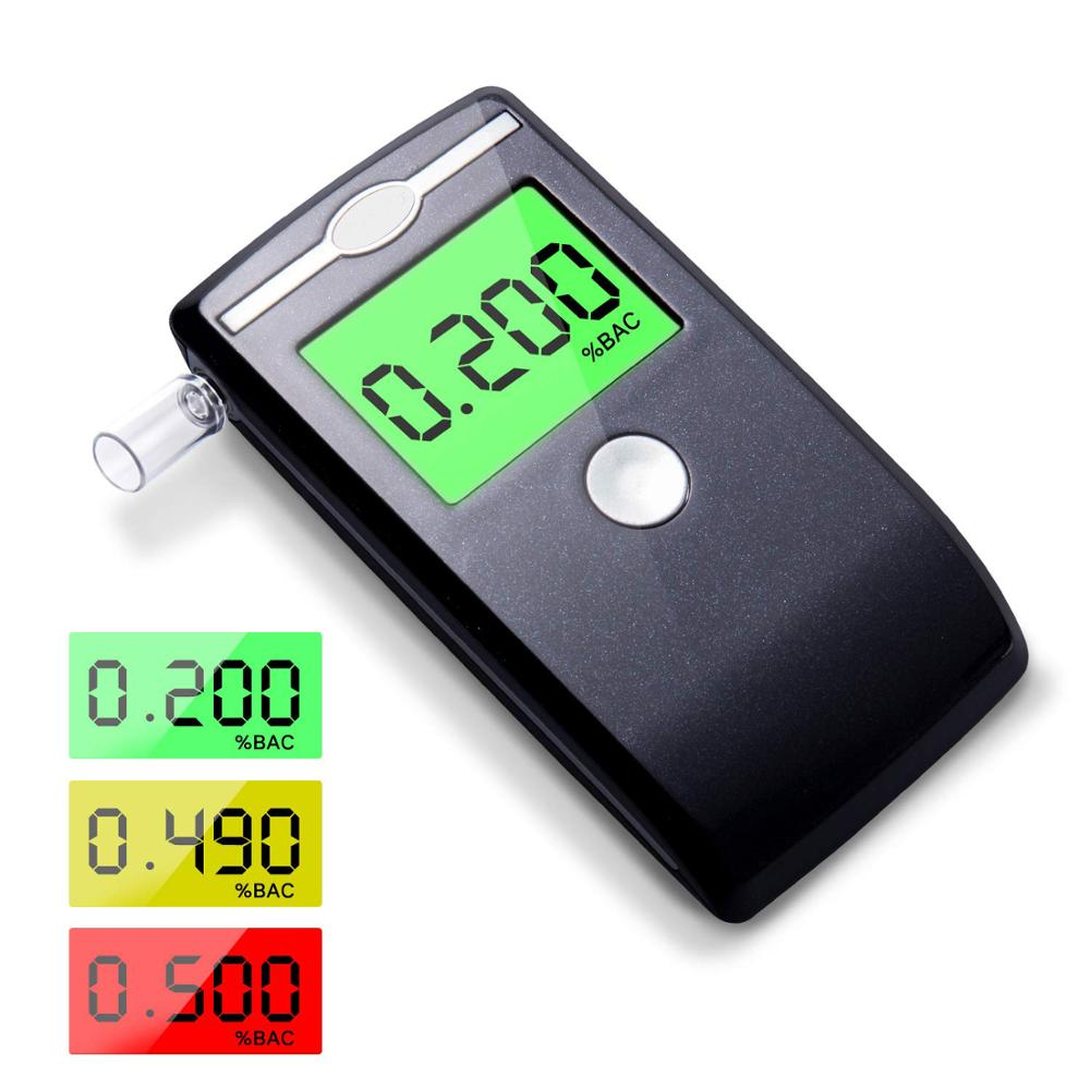 Portable Hot selling Digital Breathayzer FDA Alcohol Tester with Mouthpieces
