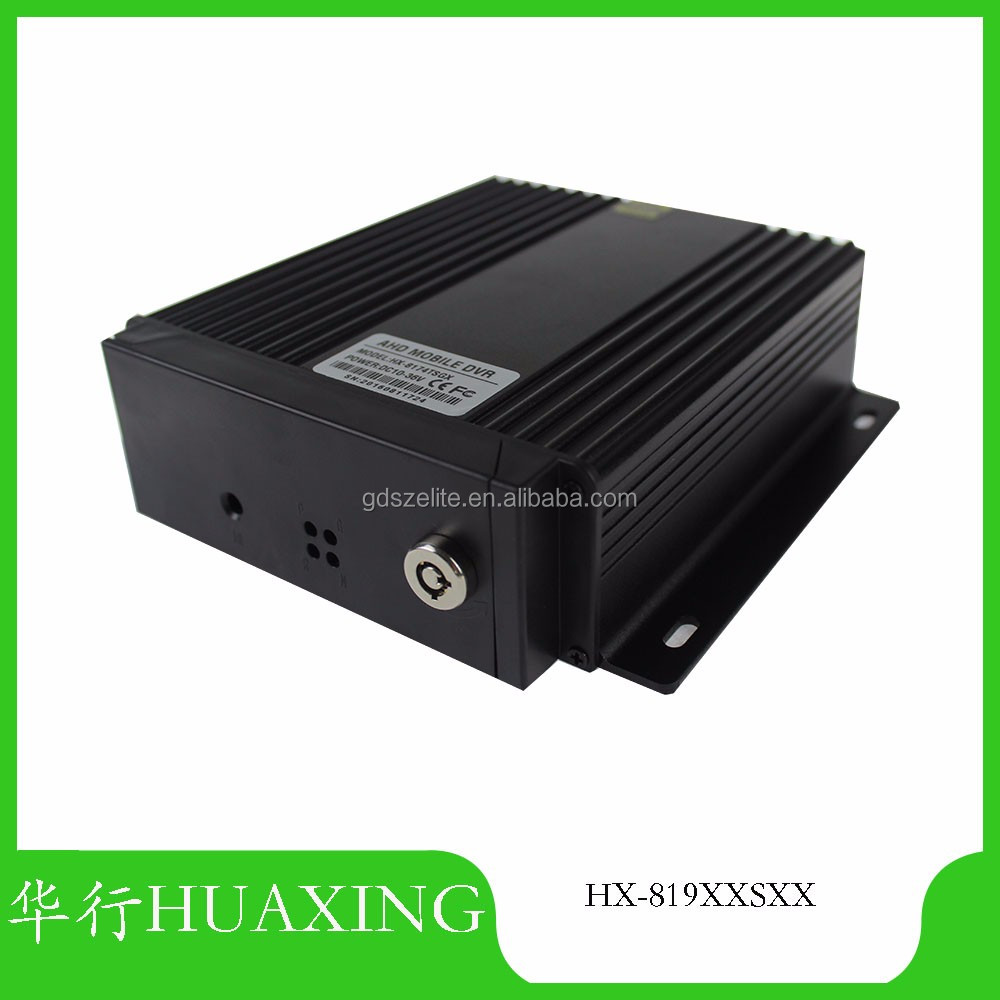 original factory SD Mobile DVR4CH full 1080*720 Built in4 languages MDVR SD max 256GB