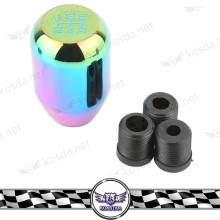 Neo chrome shift knob JDM for EP3 FD2 FN2 TYPE R DC2 DC5 AP1 AP2 S2000 F20C