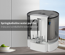 Hydrogen water is hydrogen water in the Spring alkaline water filter system