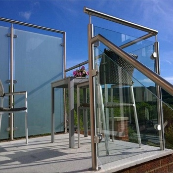 Stainless Steel Glass Terrace Railing Designs For Safety ...